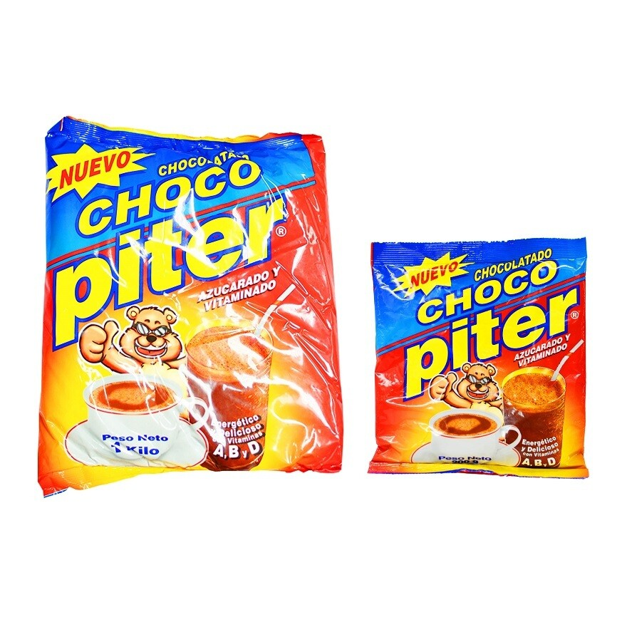Chocolate azucarado en polvo Choco Piter