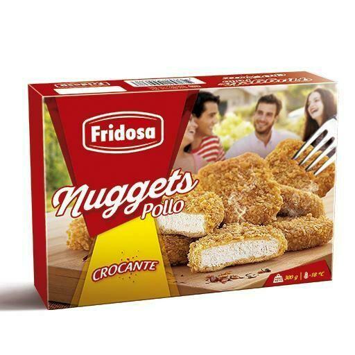 Nugget de pollo Crocante Fridosa 300 gr