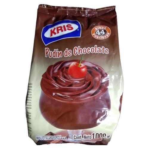 Pudín de chocolate Kris 1.000 gr