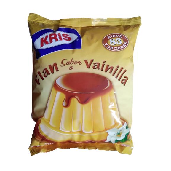 Flan en polvo de vainilla Kris bolsa 1 kg