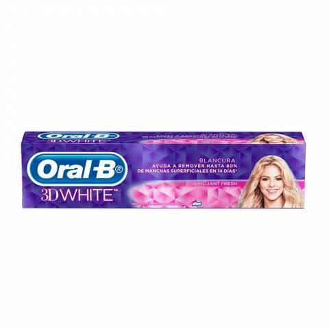 Crema dental Oral B 3D white fresh 107 gr