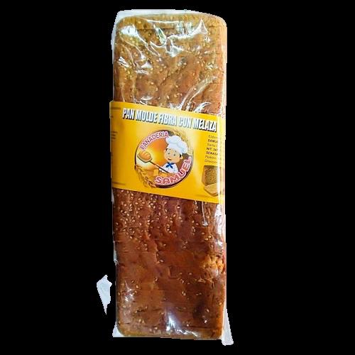Pan molde fibra con melaza Panadería Samuel - 1 bolsa