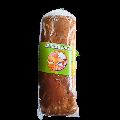 Pan molde integral de plátano Panadería Samuel - 1 bolsa