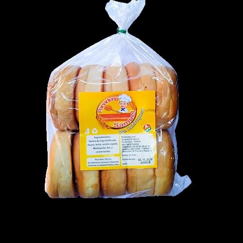 Pan para hamburguesa Panadería Samuel - 1 bolsa