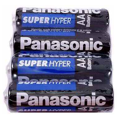 Pilas doble AA Panasonic 4 unidades