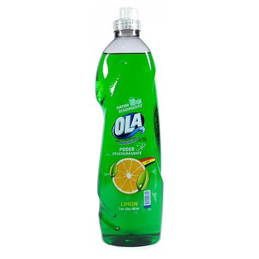 Lavavajillas Ola Limón 600 ml