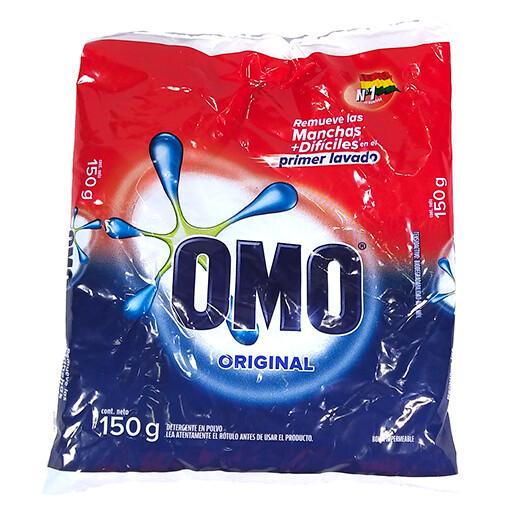 Detergente en polvo Omo original 150 gr