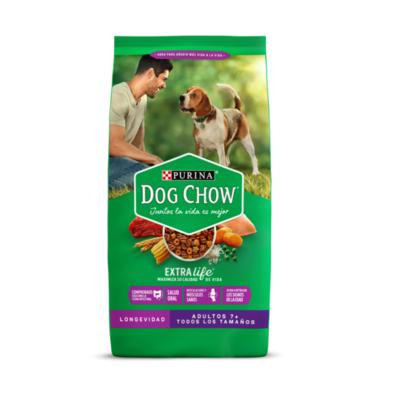 Croquetas Purina Dog Chow Longevidad Adultos 7+ todas las razas