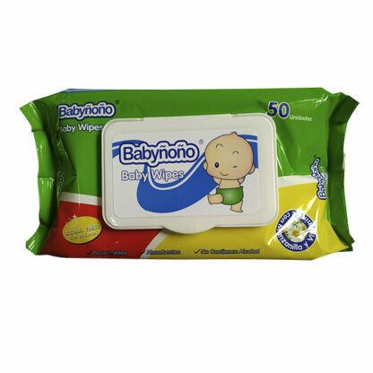 Pañitos húmedos Babyñoño 50 unidades