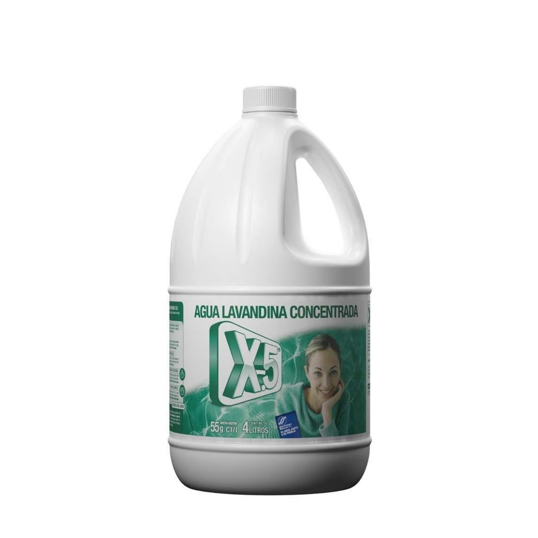 Lavandina concentrada X5 - 4 litros