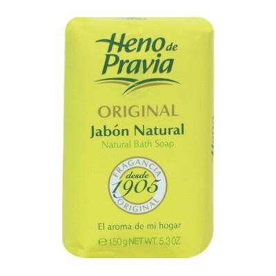 Jabón de tocador natural Heno de Pravia 150 gr
