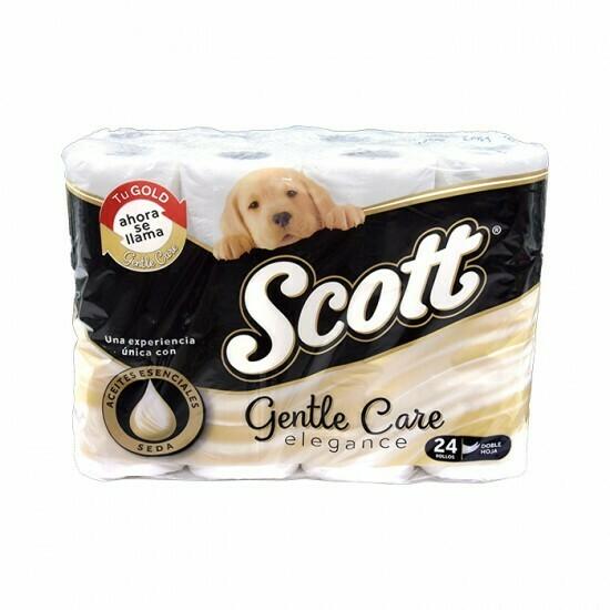 Papel higiénico Scott Gentle Care 24