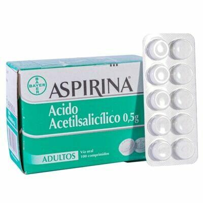 Aspirina Bayer 500 mg