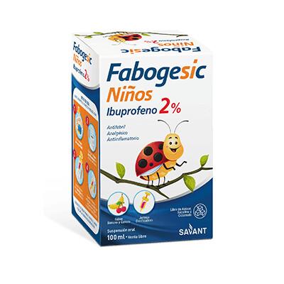 Fabogesic banana y cereza Savant 2% 100 ml