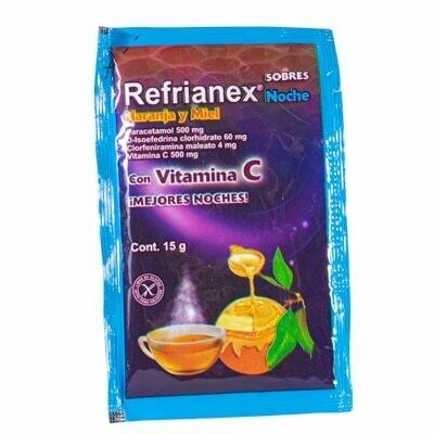 Refrianex noche naranja y miel Bagó 15 gr