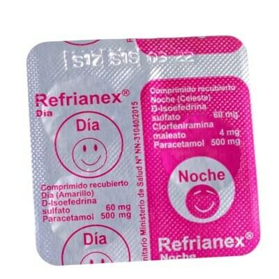 Resfrianex día y noche (3 tabletas)
