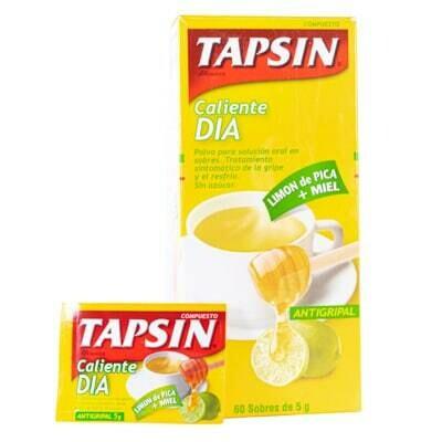 Tapsin día limón y miel