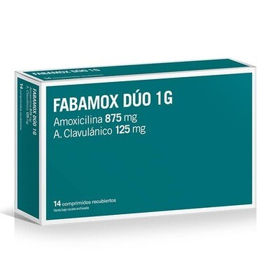 Fabamox Dúo 1 gr