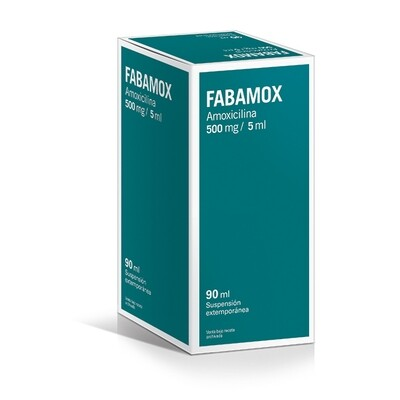 Fabamox 500 mg 90 ml