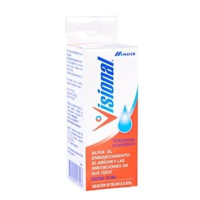Visional 0,05% solución oftalmológica 15 ml