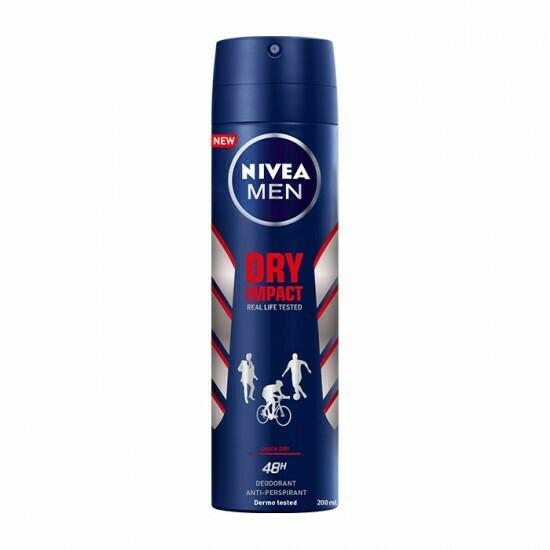 Desodorante en spray Nivea For Men Dry Impact 150 ml