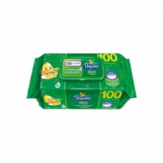Toallitas húmedas Pequeñin Aloe 100 unidades
