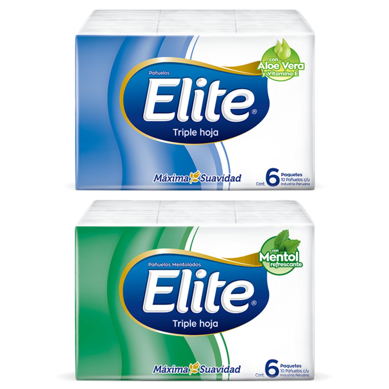 Pañuelos desechables Élite pack 6