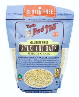 Organic Gluten Free Steel Cut Oats