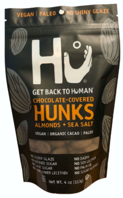 Hu Chocolate covered and Sea Salt - Almond Hunks