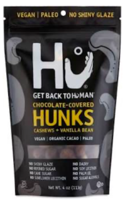 Hu Chocolate - Cashew + Vanilla Bean Hunks