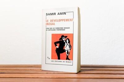 Le développement inégal, Samir Amin, Les Éditions  de Minuit, 1973