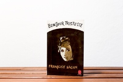 Bonjour tristesse, Françoise Sagan, Julliard, 1954