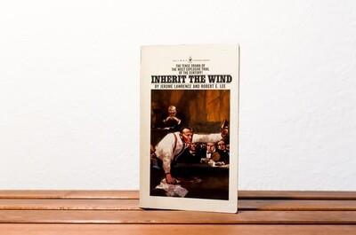 Inherit the wind, Jerome Lawrence & Robert E. Lee, Bantam drama, 1976