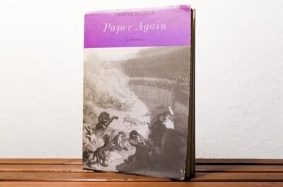 Paper again, Γιώργος Βέλτσος, Πλέθρον, 1997