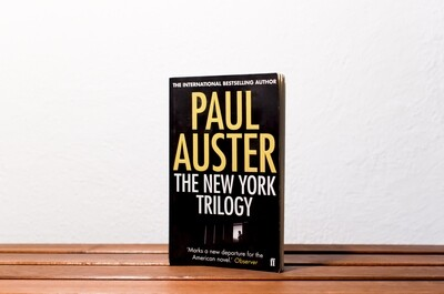 The New York trilogy, Paul Auster, faber and faber, 2011