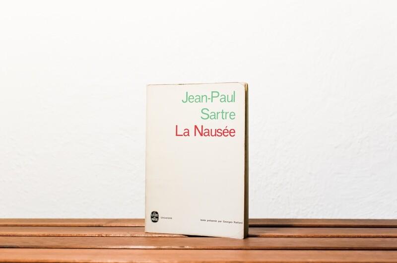 La nausée, Jean-Paul Sartre, Livre de poche-Université, 1966