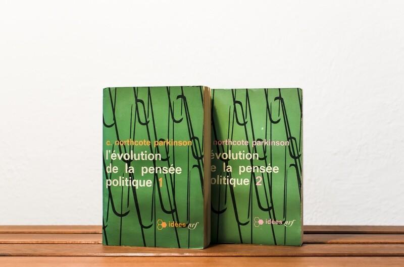 L'évolution de la pensée politique, I & II, C.Northcote Parkinson, idées/Gallimard, 1964-65