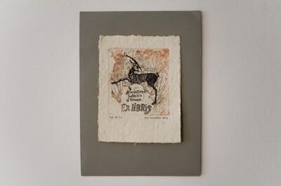 Χαλκογραφία (βαθυτυπία), imp. 8/20, χειροποίητο βαμβακερό χαρτί Nepal, 2012