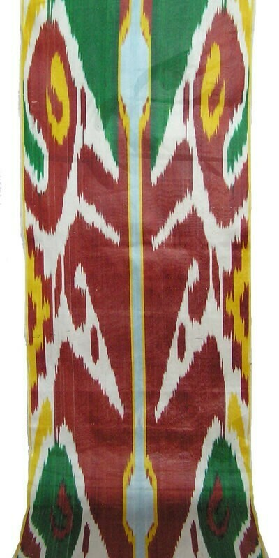 """Margilani"" handwoven ikat fabric"