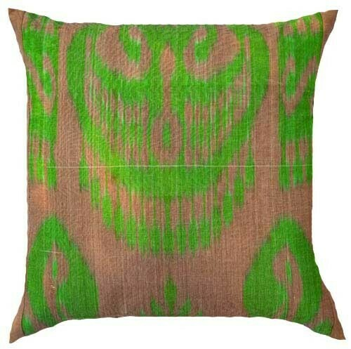 """""""Bodom"""" ikat pillow cover"""