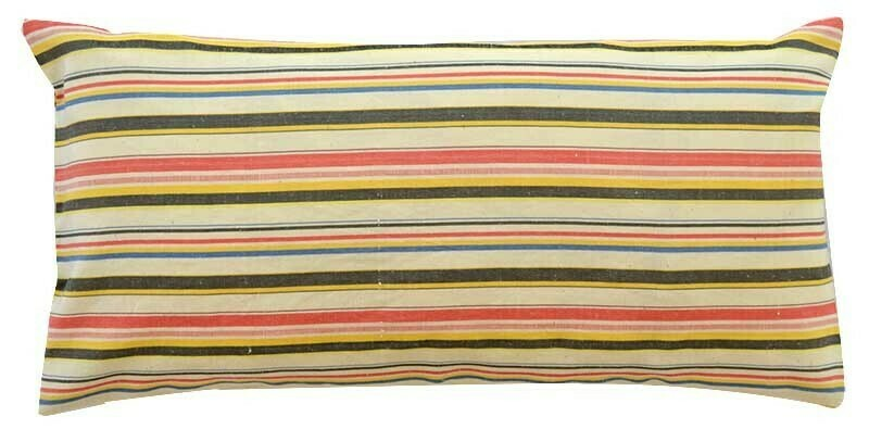 """Bekasam stripes"" lumbar pillow cover"