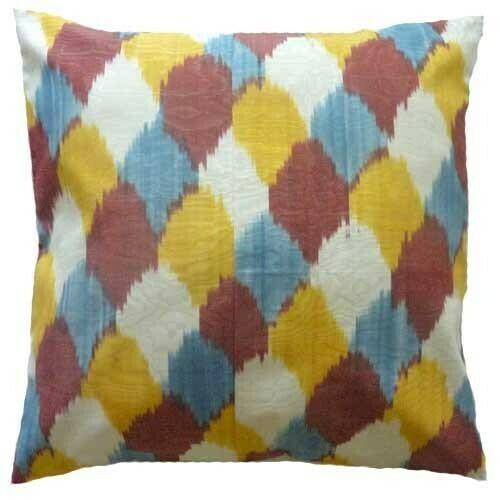 """""""Tangachalar""""  ikat pillow cover"""
