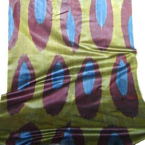 """""""Cirque de la ikat"""" wide ikat fabric"""