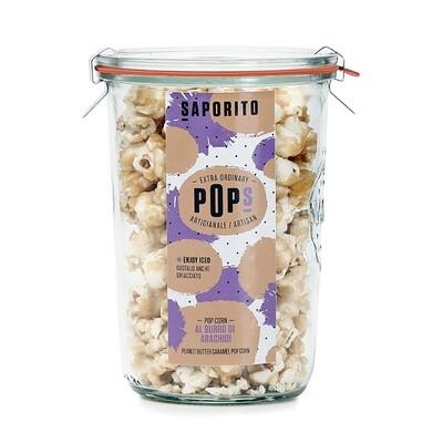 Pop Corn Caramellati al Burro di Noccioline