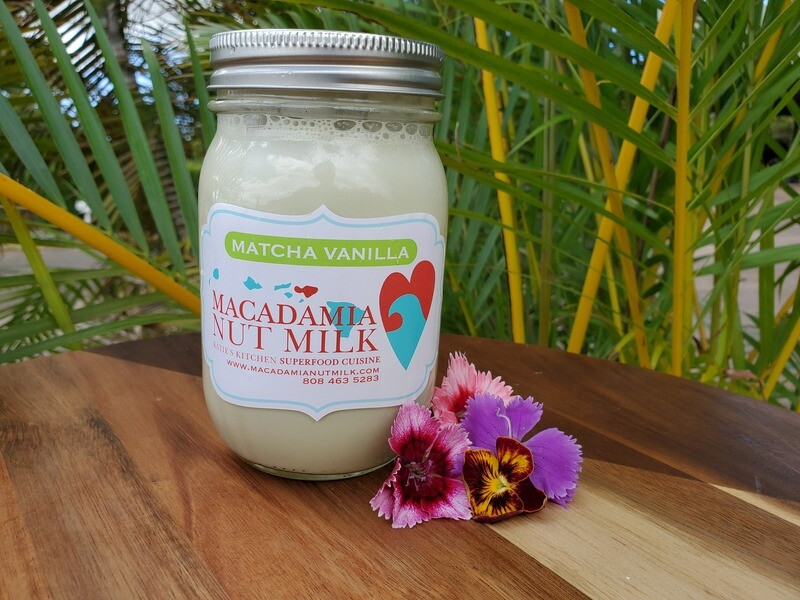 Macadamia Nut Milk Matcha Vanilla