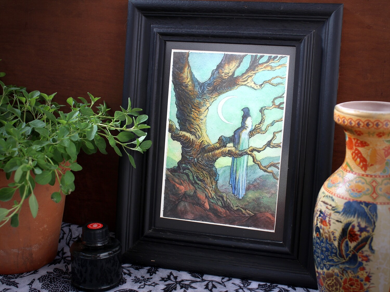 The Waiting - Original Painting