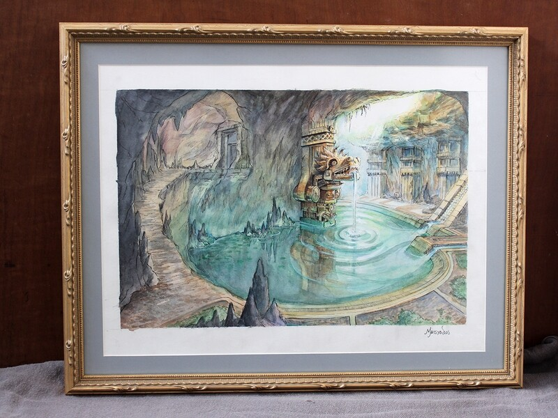 The Cenote - Original Painting