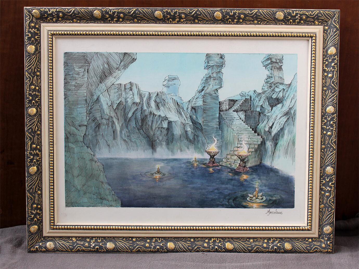 Lake of Remembrance - Original Painting