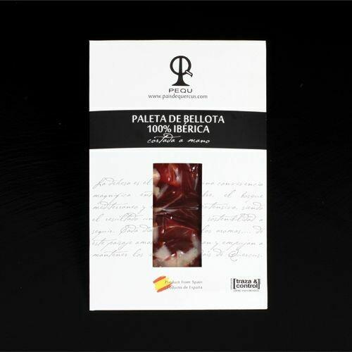 PALETA DE IBÉRICO PURO BELLOTA 6@PQ - 100 g.