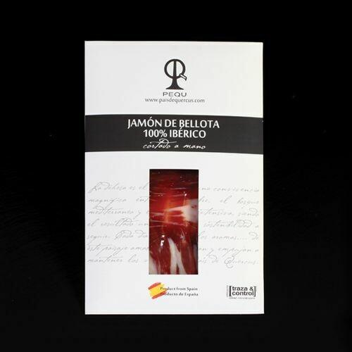JAMÓN DE BELLOTA 100% IBÉRICO 6@PQ - 100 g.